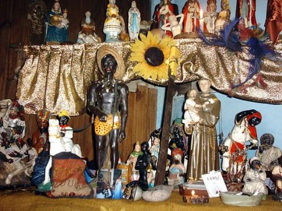 Altar Umbanda