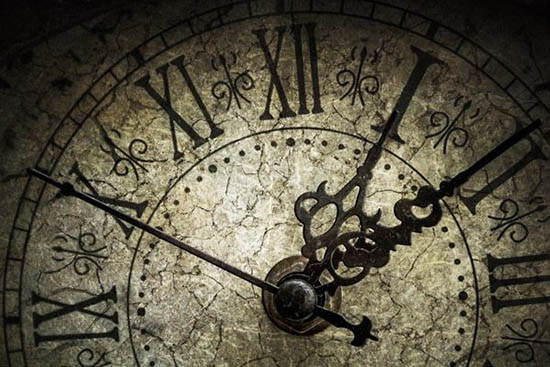 reloj en la antiguedad hora de oración