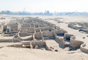 ciudad antigua descubierta en egipto